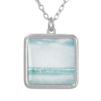 ocean 2236 silver plated necklace