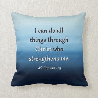 Ocean Air Scripture Pillow
