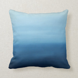 Ocean Air Zen Abstract Pillow