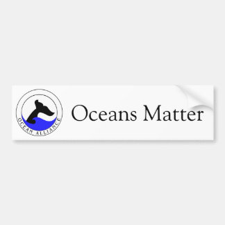 Ocean Alliance bumper sticker