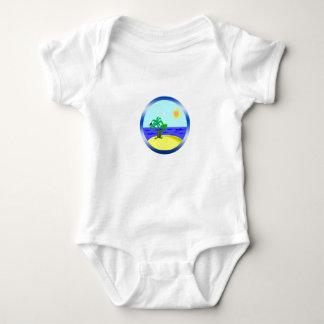 Ocean and sunlight baby bodysuit