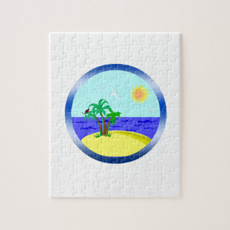 Ocean and sunlight jigsaw puzzle