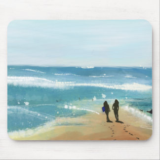OCEAN AND US MOUSE PAD