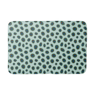 Ocean Animal Print Spotted Mandarin Fish Bath Mat