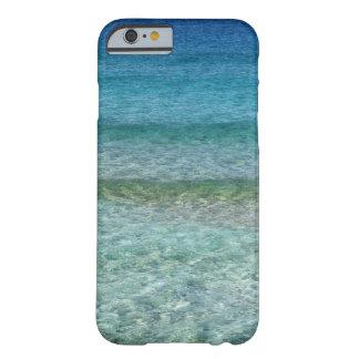 Ocean Aqua Blue Abstract Art, iPhone 6/6s Case