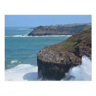 Ocean at Kilauea Postcard