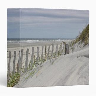 Ocean Beach and sand dunes Vinyl Binders