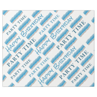 Ocean Beach Birthday Wrapping Paper