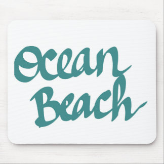 Ocean Beach design Mouse Pad