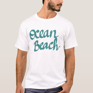 Ocean Beach design T-Shirt