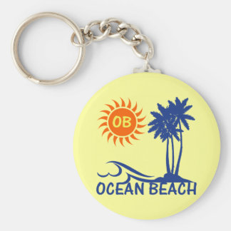 Ocean Beach Keychain
