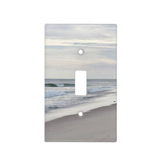 Ocean beach light switch cover