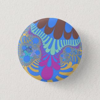 Ocean Beach Mod Small Round  Button