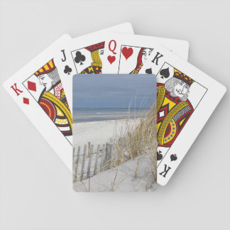 Ocean Beach on Cape Cod Playing Cards