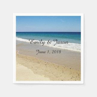 Ocean Beach Paper Napkin