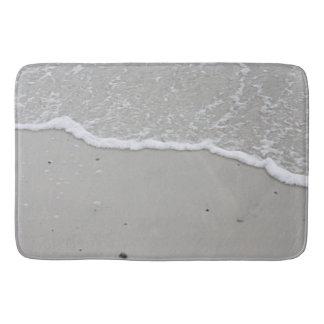 Ocean beach photo bath mat