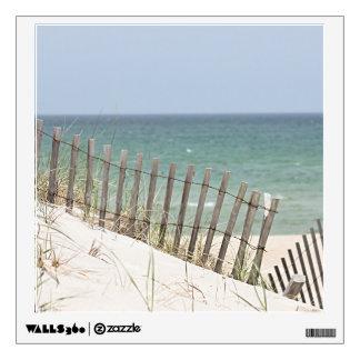 Ocean beach photo wall decal