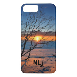 Ocean Beach Sunset Personalized iPhone Case