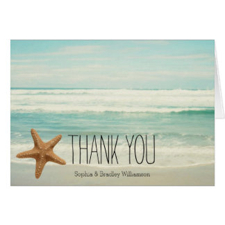 Ocean Beach Thank you Card