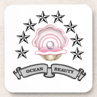 ocean beauty pearl coaster