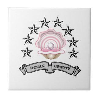 ocean beauty pearl tile