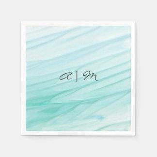 Ocean Bliss | Watercolor Personalized Napkin