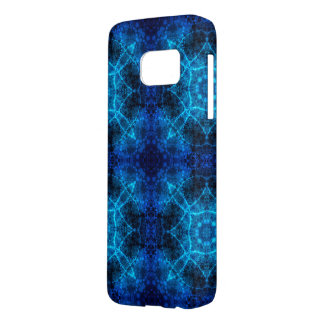 Ocean Blue Abstract Samsung Galaxy S7 Case