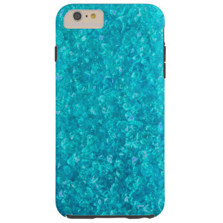 Ocean Blue Crushed Glass iPhone 6 Plus case