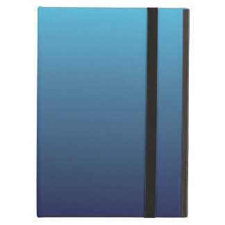 Ocean blue gradient template iPad air cover