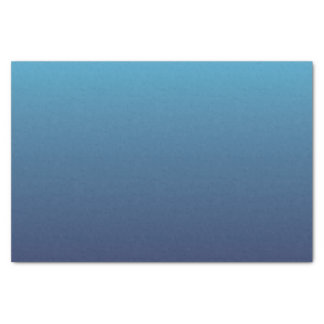 Ocean blue gradient template tissue paper