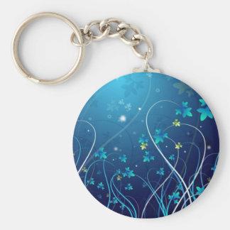 Ocean Blue Keychain