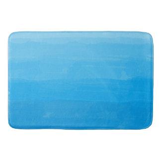 Ocean Blue Ombre Bath Mat