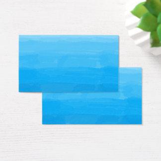Ocean Blue Ombre Business Cards