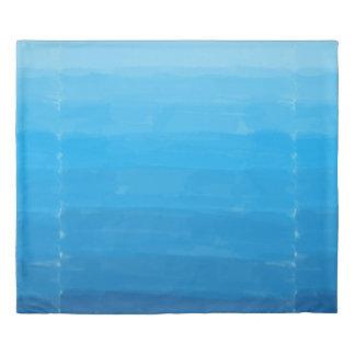 Ocean Blue Ombre Duvet Duvet Cover
