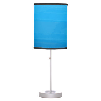 Ocean Blue Ombre Lamp