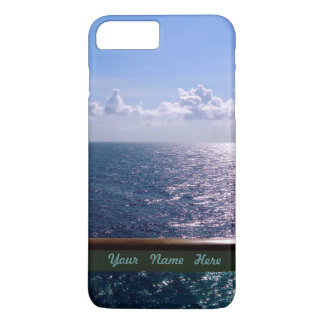 Ocean Blue Personalized iPhone 8 Plus/7 Plus Case