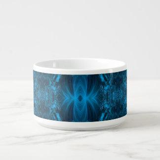 Ocean Blue Ribbons Chili Bowl