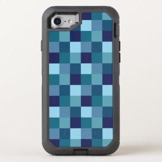 Ocean Blue Square Tiles Otterbox Case