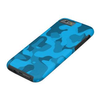 Ocean Blue Tough Camoflauge iPhone 6 Case