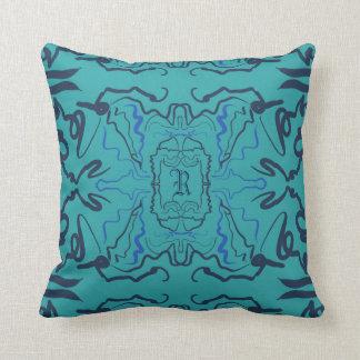 Ocean blues! throw pillow
