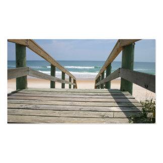 Ocean Boardwalk Business Card