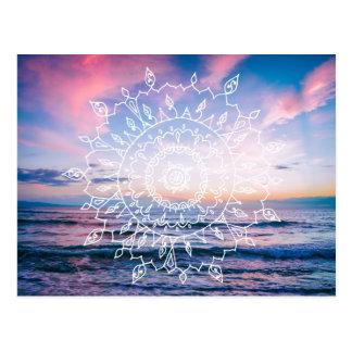 Ocean Boho Mandala | Postcard