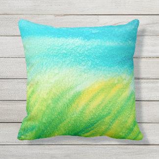 'Ocean Breeze' Throw Pillow