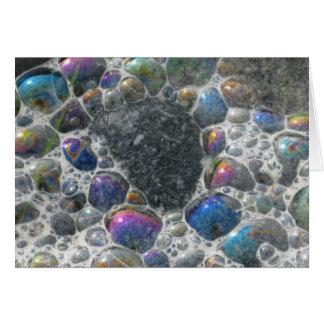 Ocean bubbles card