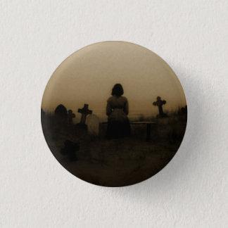 Ocean cemetery 1 inch round button
