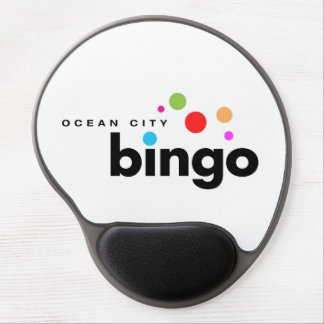 Ocean City Bingo Mousepad Gel Mouse Pad