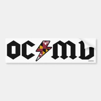 Ocean City Bumper Sticker OCMD