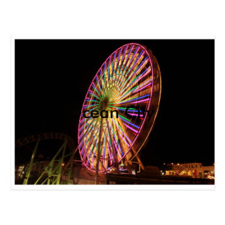 Ocean City ferris wheel Postcard