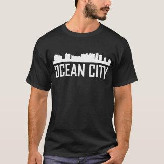 Ocean City Maryland City Skyline T-Shirt