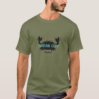 Ocean City Maryland Crab T Shirt